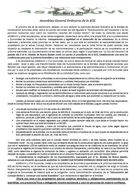 Boletín Sep. 2013