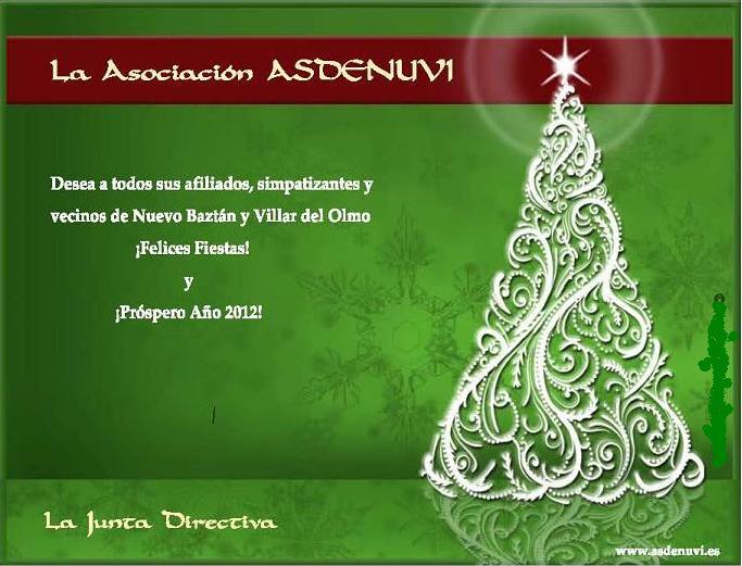Felices Fiestas Asdenuvi 2011