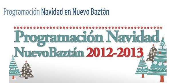 Programación Navidad Nuevo Baztán 2012-2013