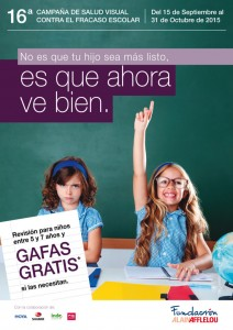 16ª Campaña de Salud Visual Contra el Fracaso Escolar